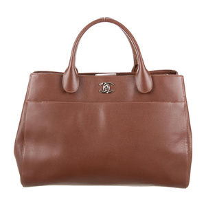 2015 Chanel Cerf Tote Brown